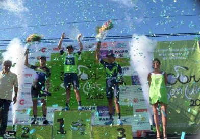 Dayer Quintana se impone en lo más alto del podio en el Tour de San Luis