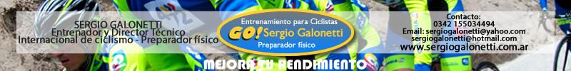 Sergio Galonetti / entrenador de ciclismo