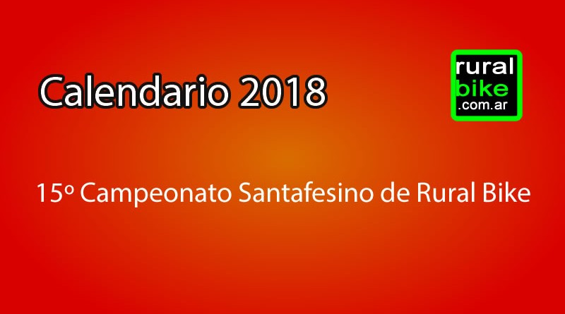 Ajuste de localidades en el calendario 2018