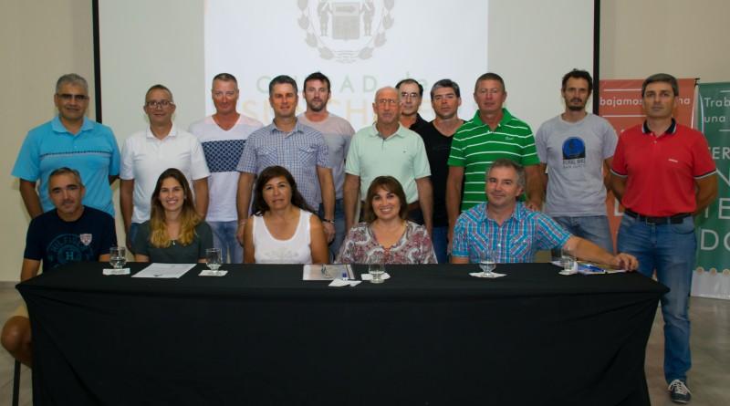 Conferencia de Prensa en Sunchales