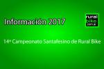 Calendario y Reglamento competitivo 2017