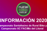 Calendario del Santafesino de Rural Bike y XC FACiMo del Litoral