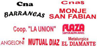 sponsors barrancas