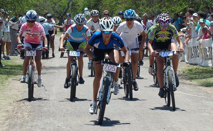 Largada del Capeonato Argentino de Rural Bike 2010